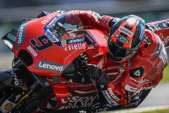 Test MotoGP 2019, Sepang: Petrucci