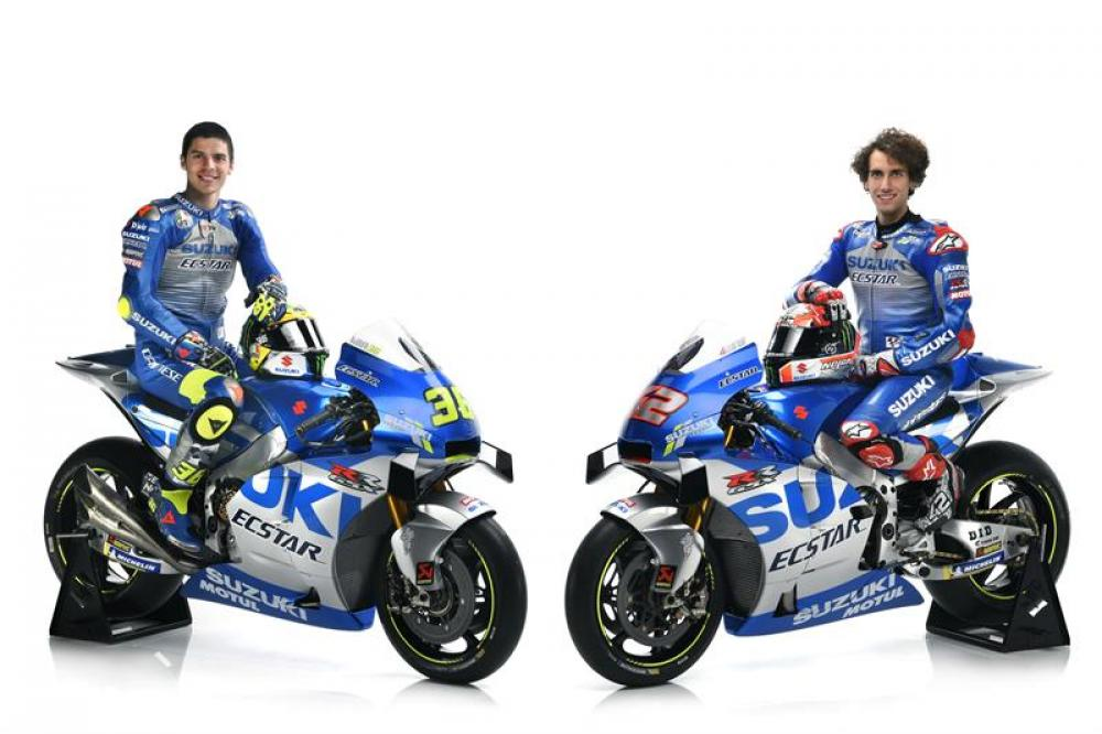 MotoGP 2020: Ecco la nuova Suzuki MotoGP di Rins e Mir