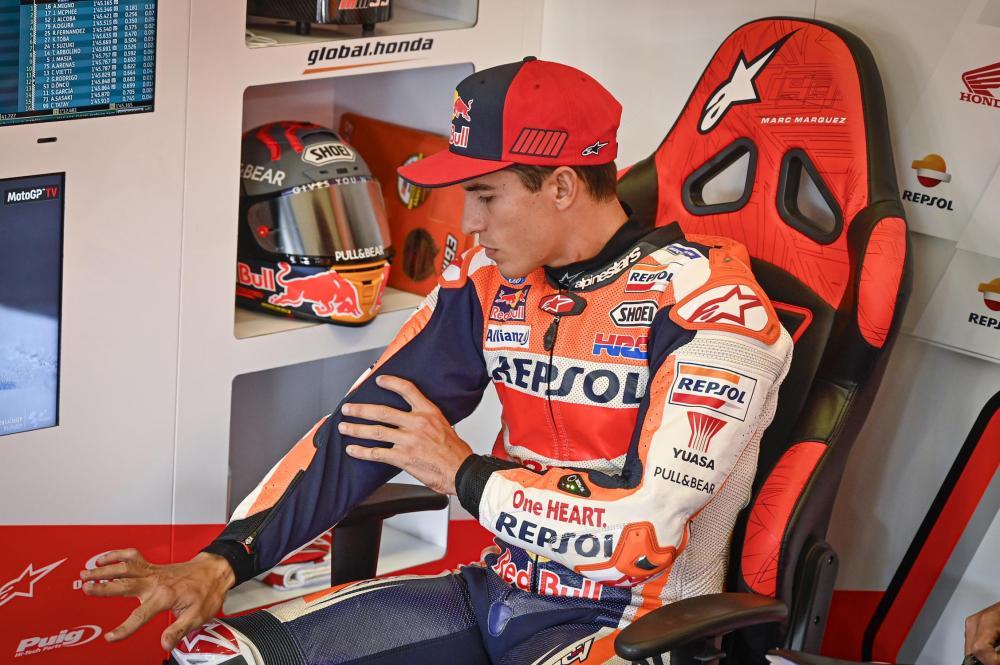 MotoGP, Marquez e i progressi mostrati su Instagram