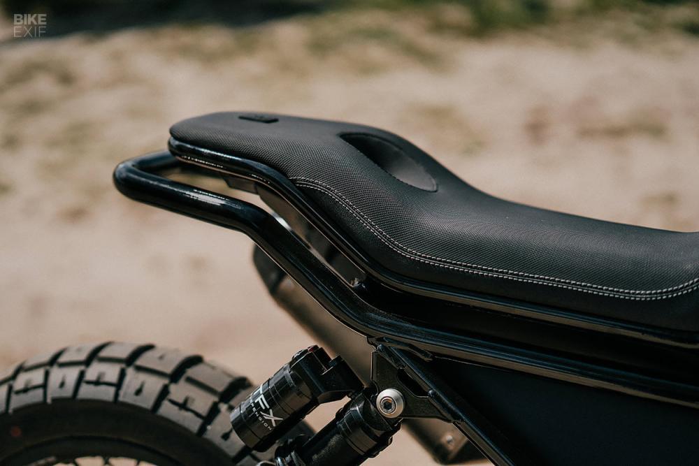 Luuc Muis redesigns the Moto Guzzi V85 TT for Vanguard