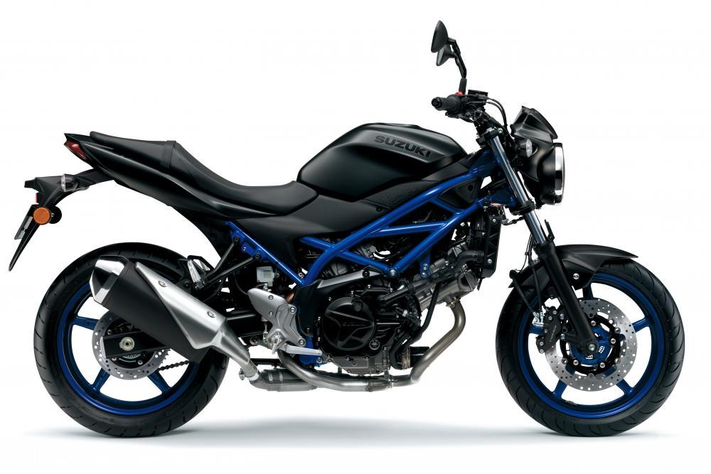Suzuki svela la nuova SV650 2021