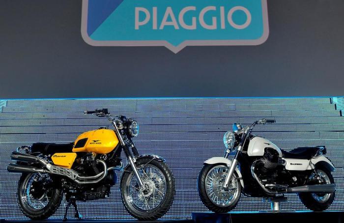 Ecco come sono la California 1400 e V7 Scrambler, i due prototipi di Moto Guzzi con cui il Gruppo Piaggio intende rilanciare il Marchio dell'aquila di Mandello.