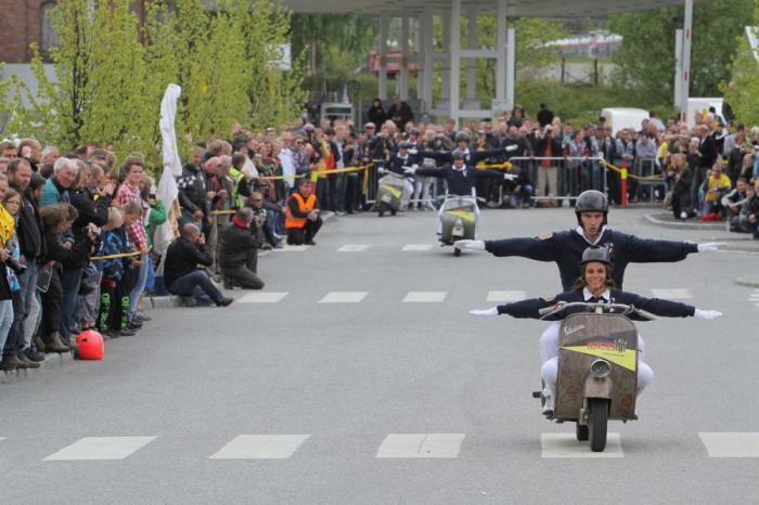 Le foto dell'evento dedicato alla Vespa che quest'anno si è svolto in Norvegia