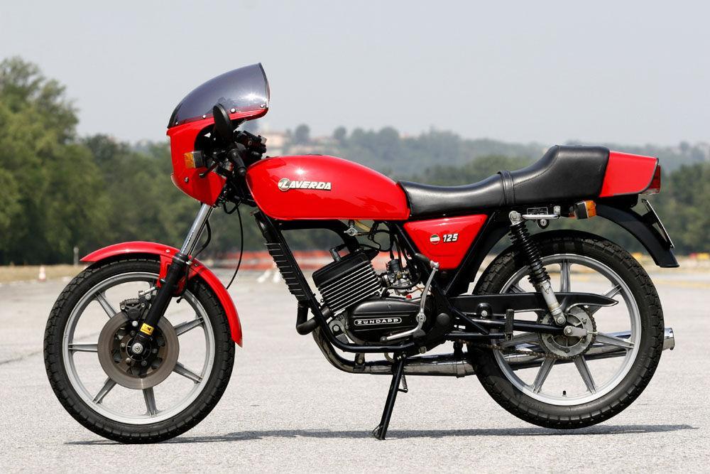 LAVERDA LZ 125 moto epoca qui con curiosità, scheda, VIDEO