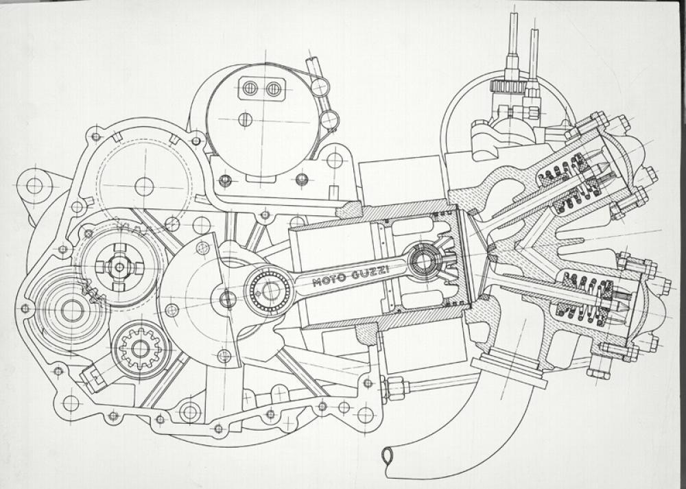 moto guzzi galletto  1950-1966