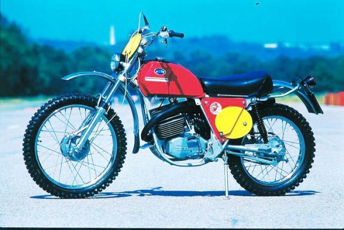 moto miti ktm gs 125 1971 motociclismo. Black Bedroom Furniture Sets. Home Design Ideas