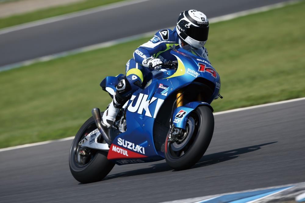 Suzuki MotoGP con Randy De Puniet