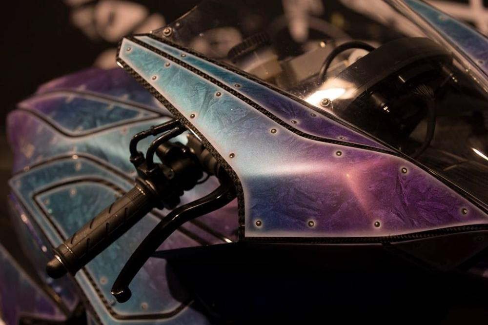 La Vyrus 986 M2 dipinta da Flavio Bosco