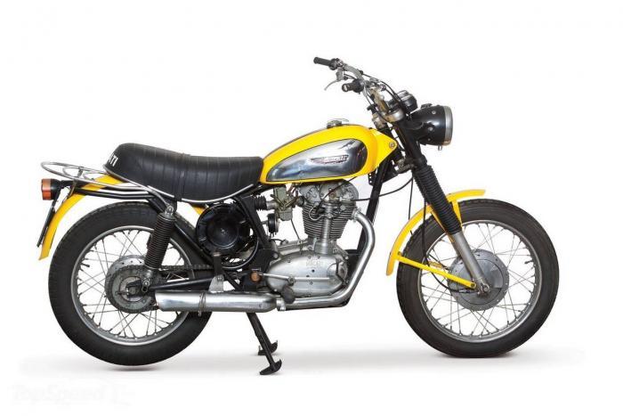 La Ducati Scrambler 450 del 1972