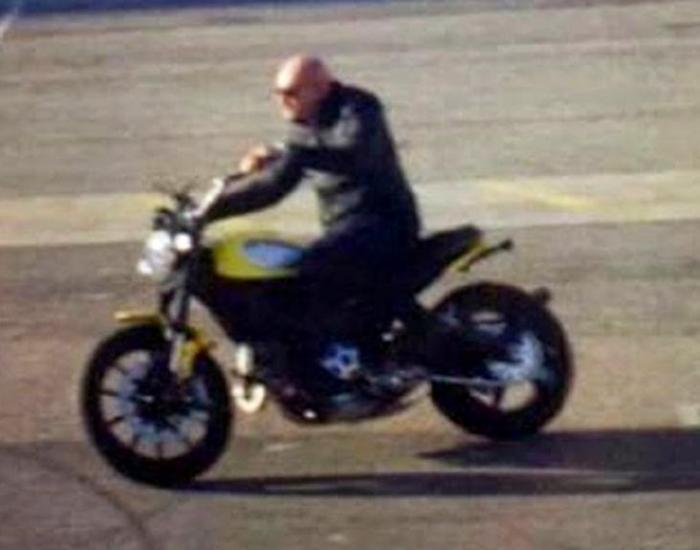 Ducati Scrambler in versione praticamente definitiva