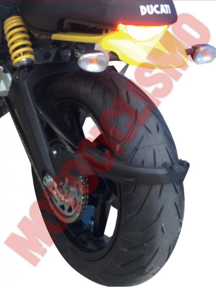 Ducati Scrambler in versione praticamente definitiva. Foto esclusiva di Motociclismo