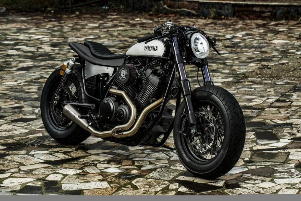 Yamaha Special Scrambler E Cafe Racer Novita Su Base XSR900 XV950 By Wrenchmonkees Moto Di Ferro