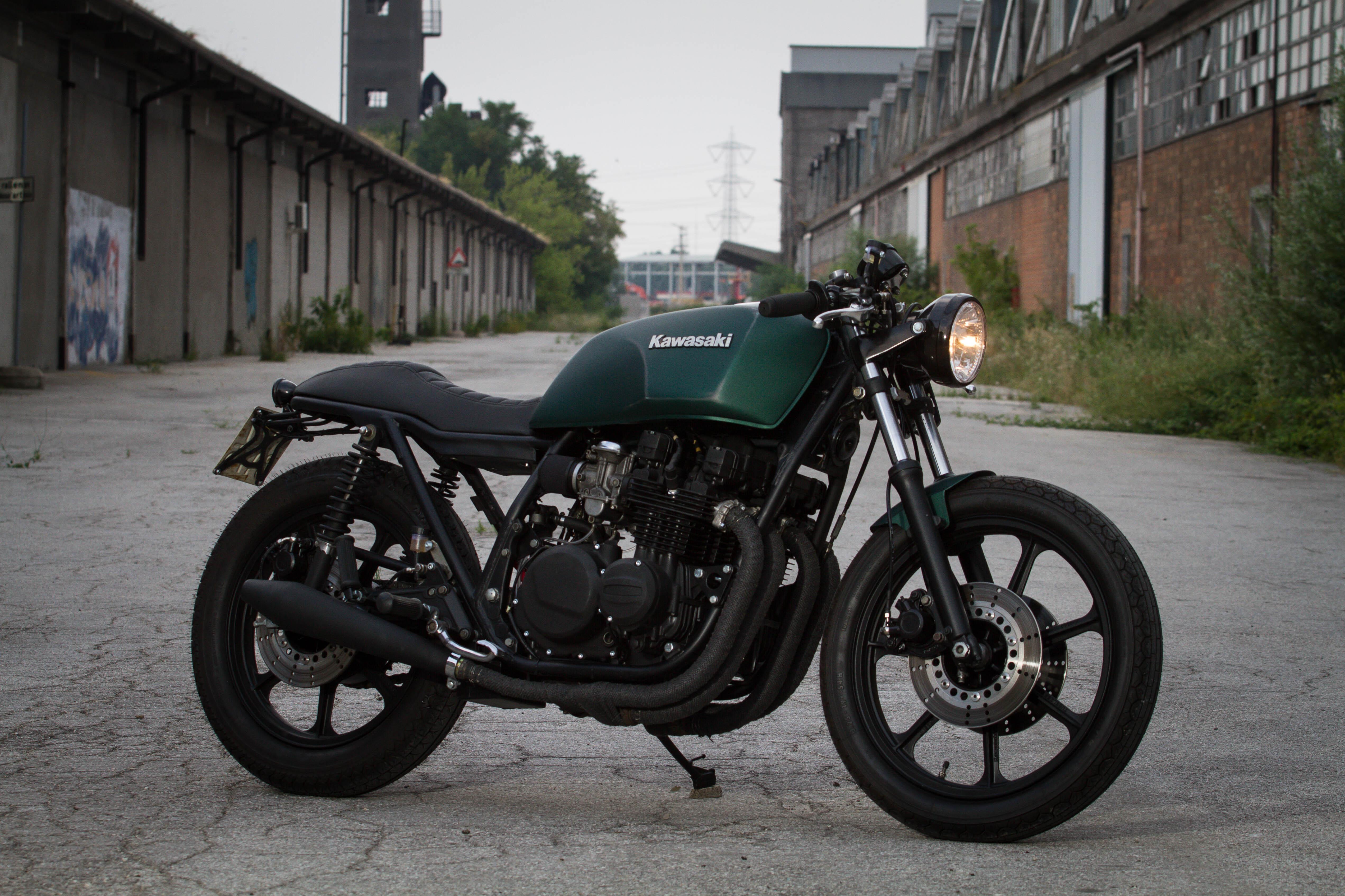 Cafe Racer Kawasaki Z750 Idea Di Immagine Del Motociclo