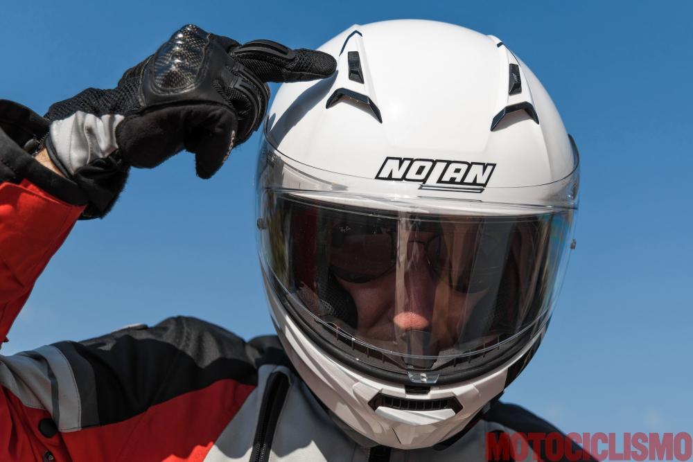 nolan n87 casco integrale provato da motociclismo. Black Bedroom Furniture Sets. Home Design Ideas
