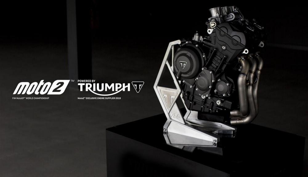 Dal 2019 la Moto2 avrà motori Triumph