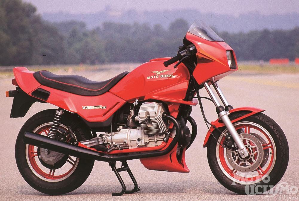 Moto Guzzi V 35 Imola Ii V 65 Lario 1983 Storia Prova Di