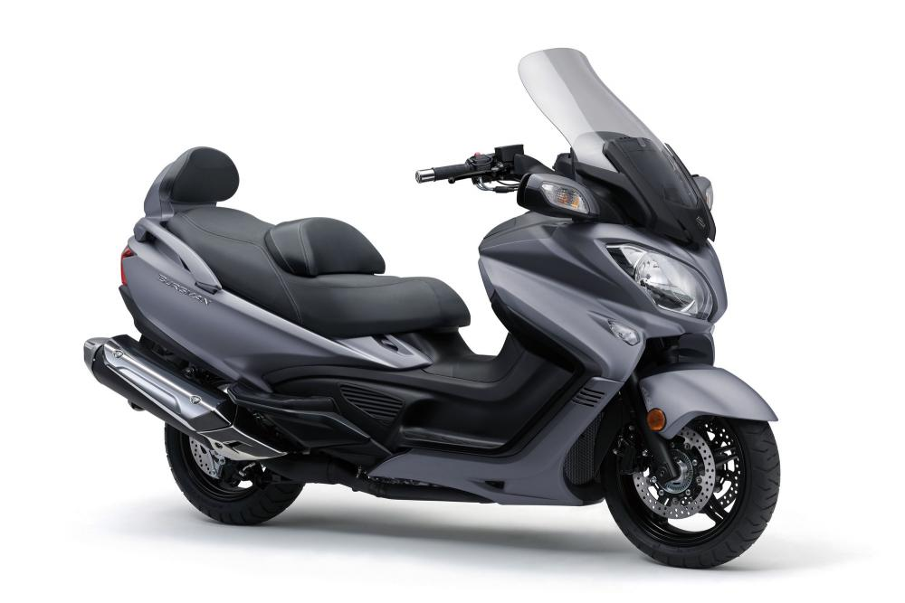 suzuki burgman 650 2017 motociclismo. Black Bedroom Furniture Sets. Home Design Ideas