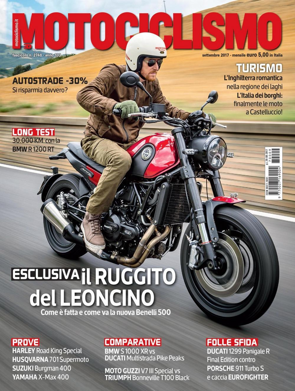 Motociclismo Di Settembre 2017 Nuovo Numero In Edicola