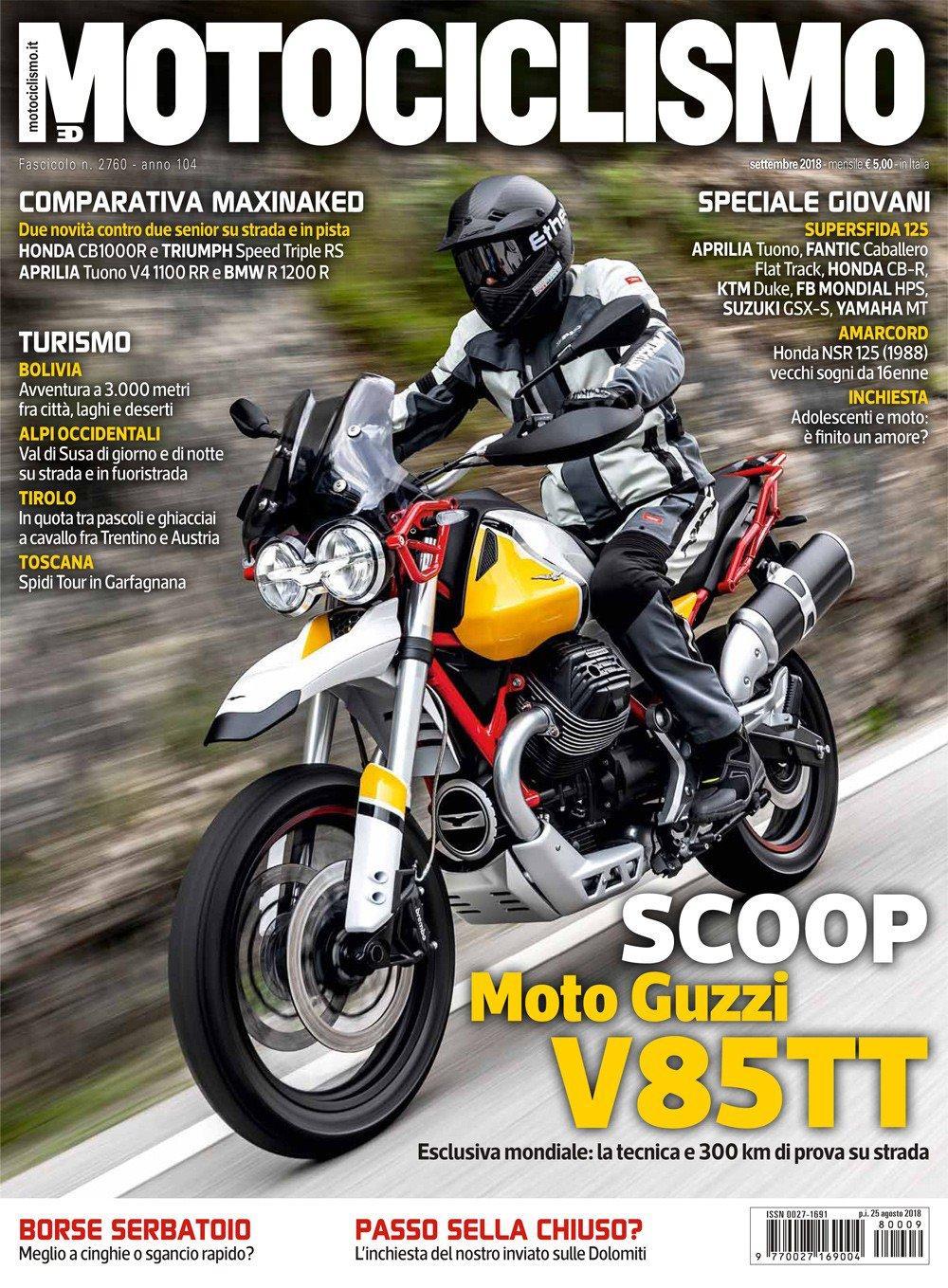Moto Guzzi V85 B