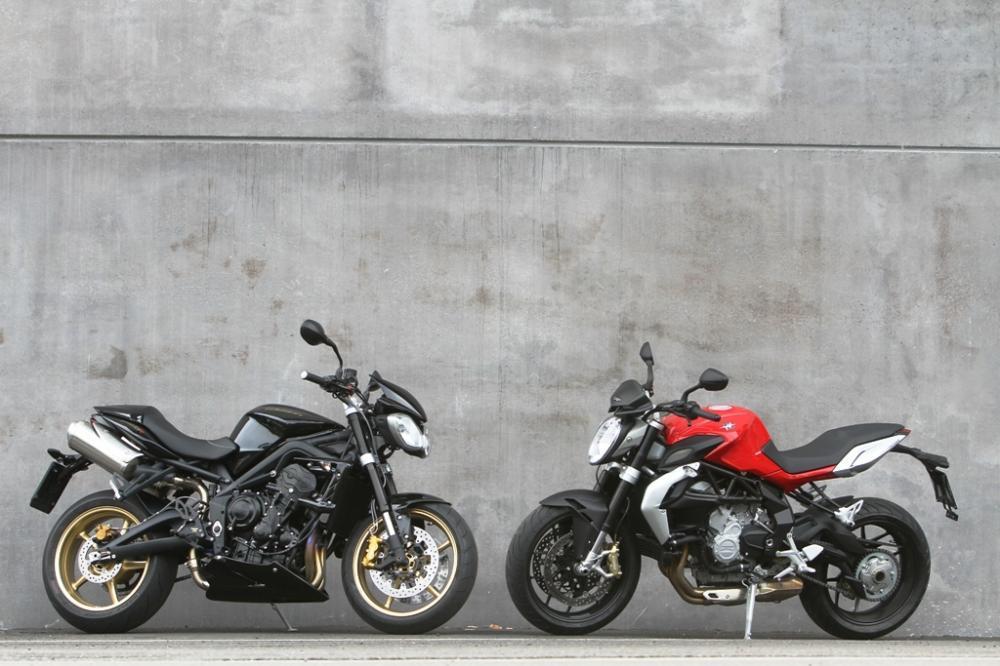 Comparativa Aprilia Shiver 750, BMW F 800 R, MV Agusta