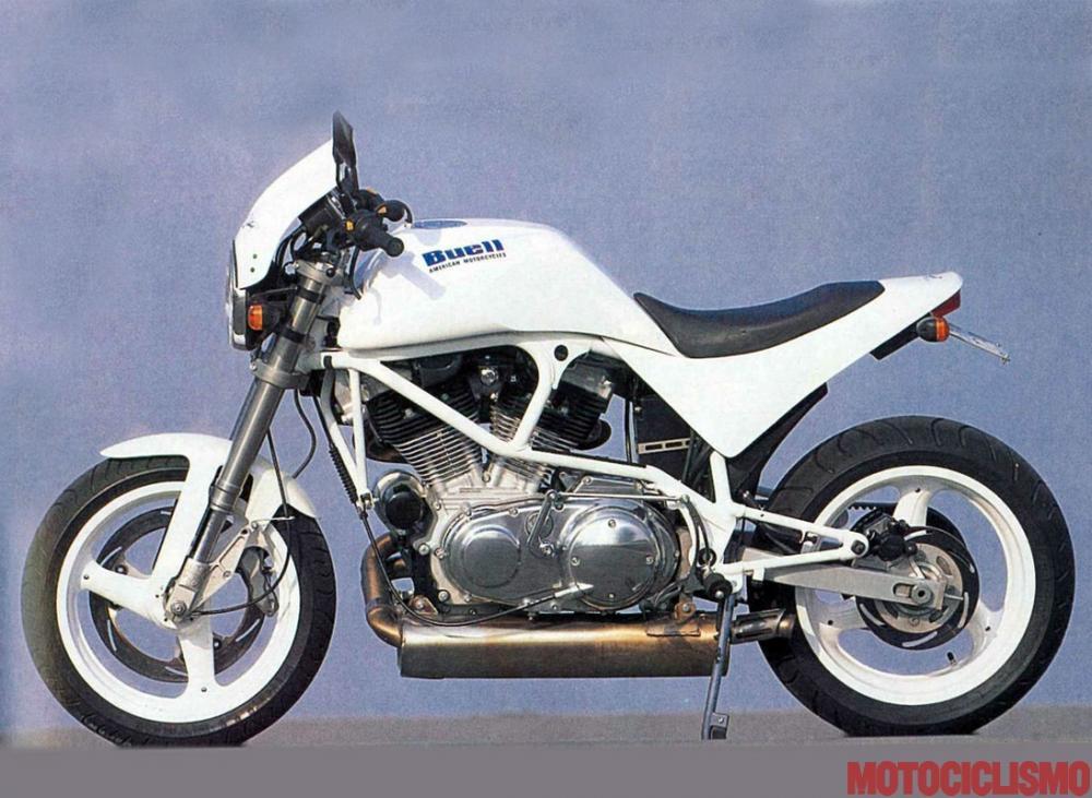 buell white lightning: memorabile! - motociclismo
