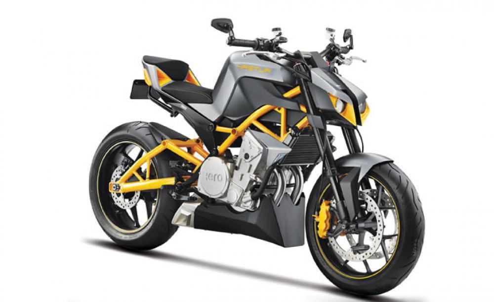 hero dall 39 india una naked 600 cc e una moto a idrogeno motociclismo. Black Bedroom Furniture Sets. Home Design Ideas